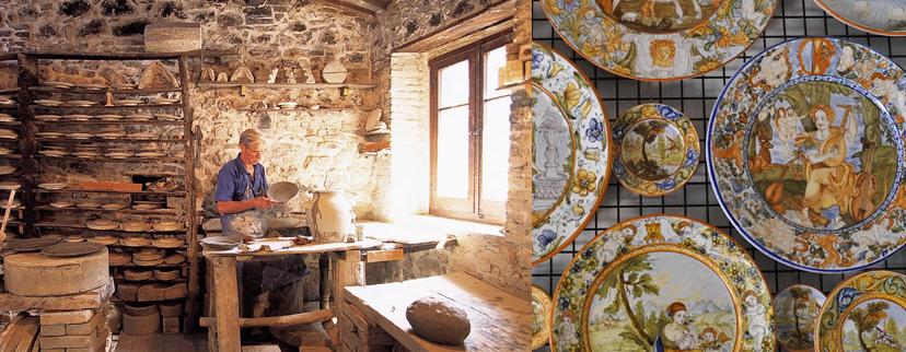 Castelli: il borgo d\'Abruzzo noto per le antiche ceramiche