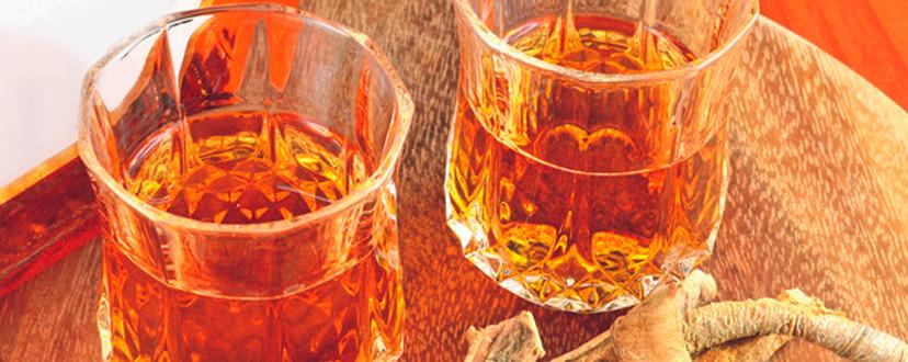 genziana | liquori tipici abruzzesi