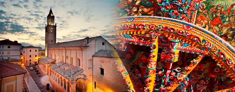 Dall'Etna al Gran Sasso nel borgo di Città Sant'Angelo