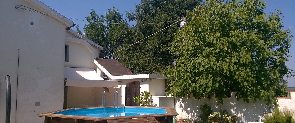 Villa in campagna Casale Le Querce Cellino Attanasio