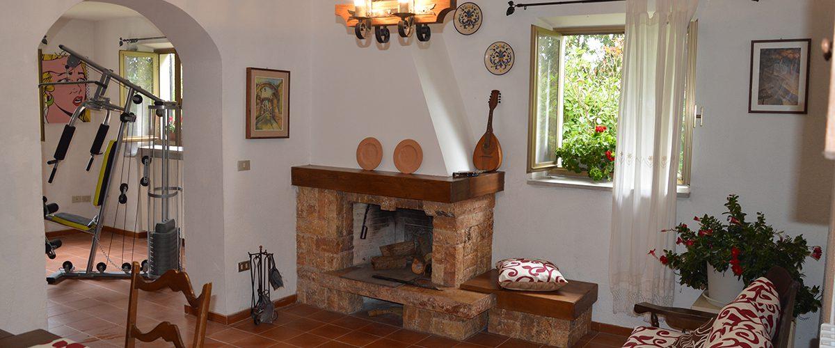 Villa in campagna Casale Le Querce Cellino Attanasio 4