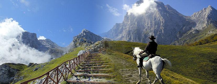 corno grande   escursioni gran sasso   rifugio campo imperatore