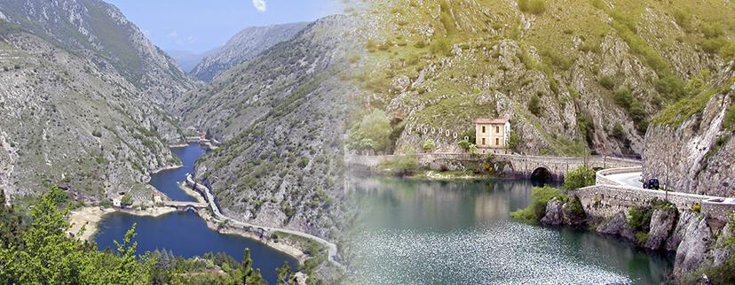 Abruzzo Riserva naturale | Gole del Sagittario