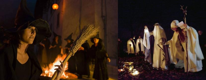 castel del monte abruzzo   la notte delle streghe